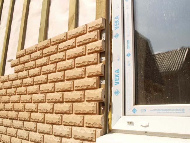 фасадная плитка для облицовки стен снаружи
