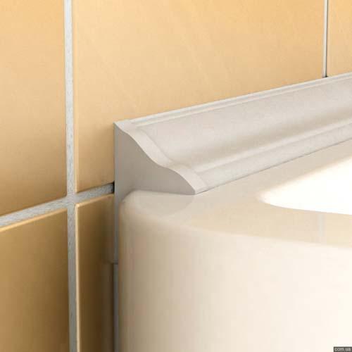 декоративный плинтус для ванной