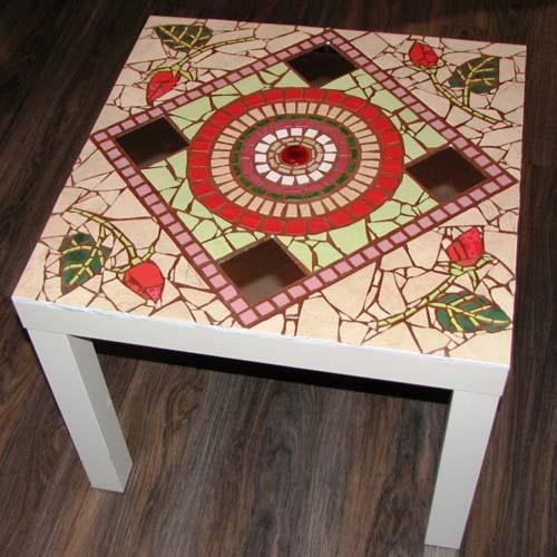 стол и мозаики своими руками