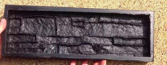 покупная форма для заливки бетонной плитки