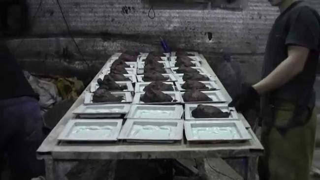 процесс изготовления бетонных плиток