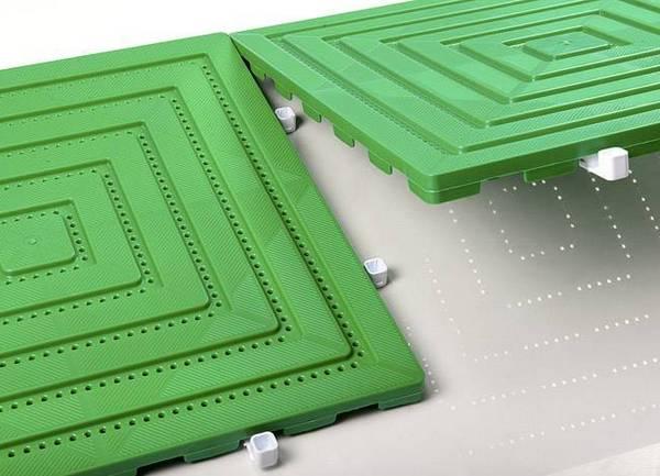 пластиковые плитки для модульных дорожек