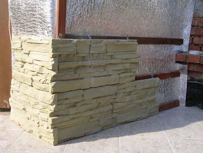 вентилируемый фасад из бетонной плитки