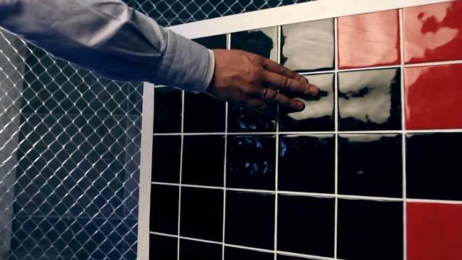 люк под плитку открывающийся при нажатии