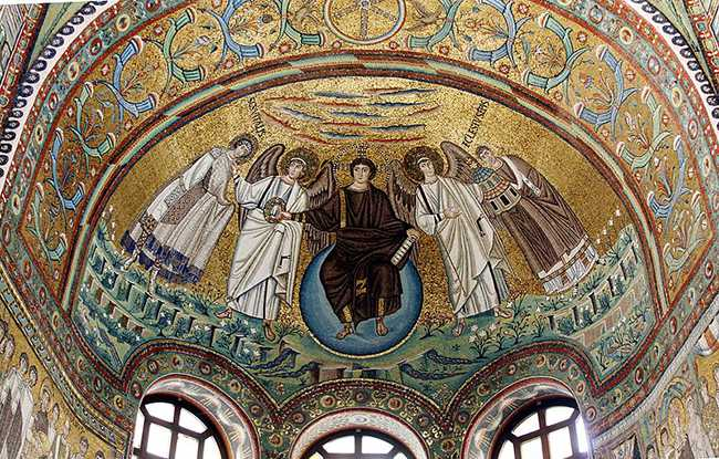 Мозаика в Равенне