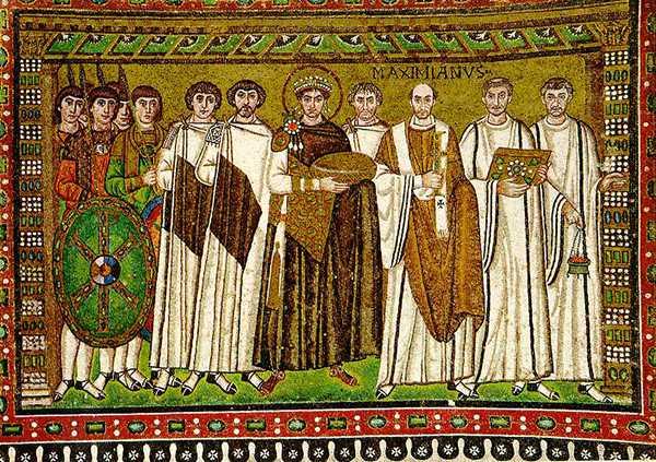 византийская мозаика изображение святых