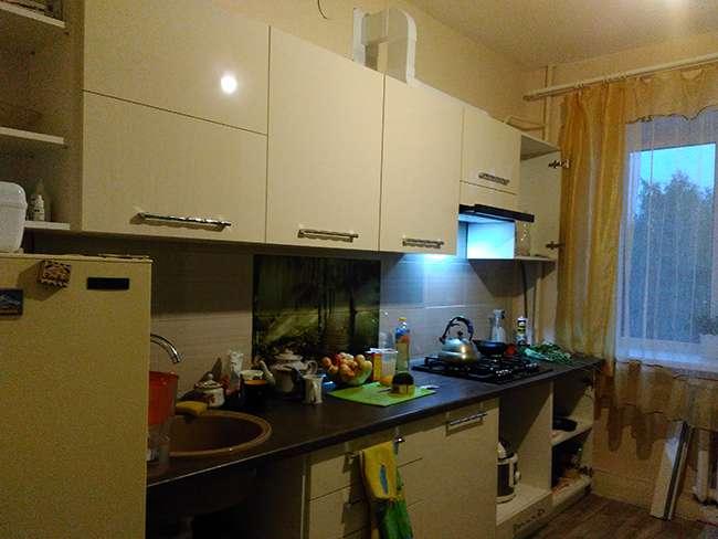 Кухня в процессе сборки